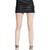 Nappa Leather Mini Skirt With Trim