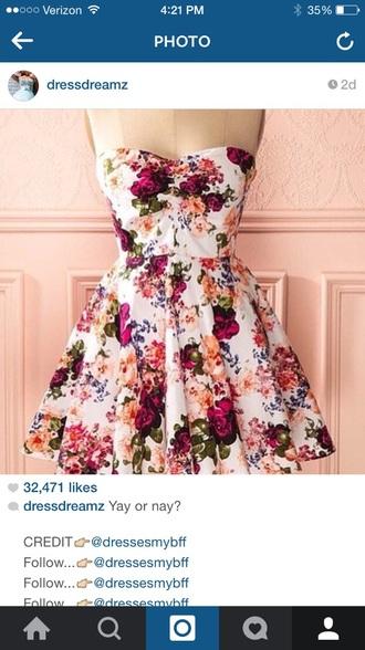dress floral dress short dress