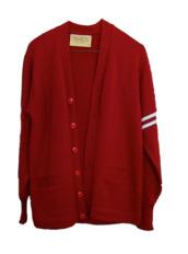 sweater,red,american,engineering,cardigan