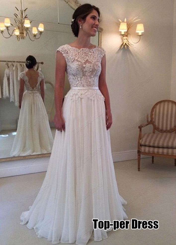 White prom dress aliexpress.