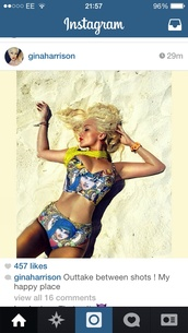 swimwear,mary,stained glass window,bralette,high waited shorts