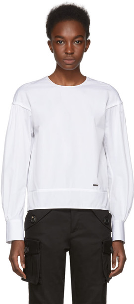 Dsquared2 blouse white top