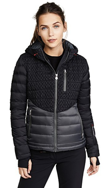 Perfect Moment jacket black grey