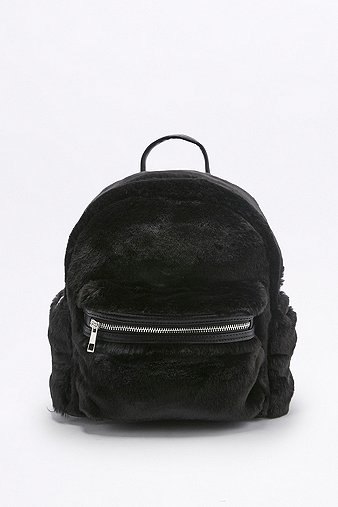 7e2fe7264c Faux-Fur Mini Backpack - Urban Outfitters