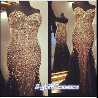 dress pageant prom dress bling-bling prom dress jovani prom dress crystals beaded prom dress rhinestones prom dresses