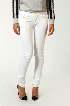 Natasha skinny fit denim jeans at boohoo.com