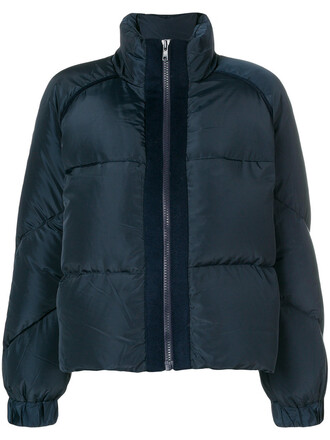 jacket women blue wool