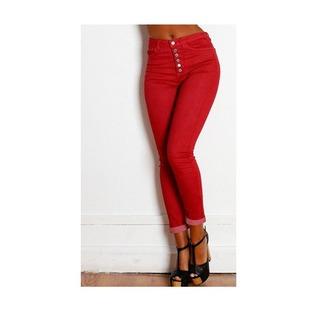 jeans sexy bordeaux