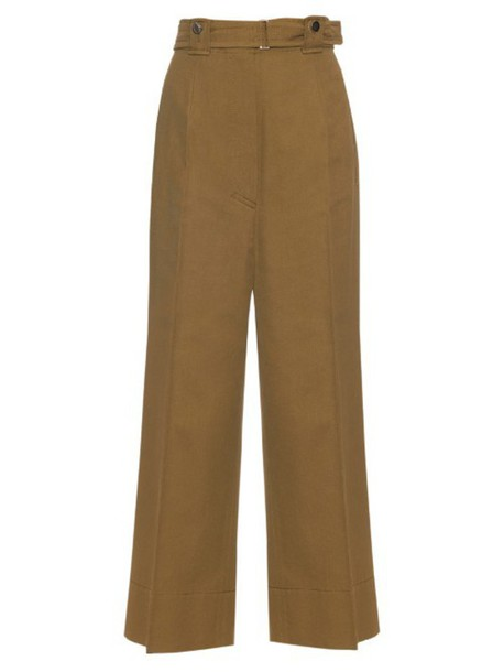 SPORTMAX Fascino trousers in khaki