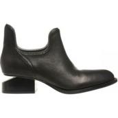 shoes,black,boots,chelsea boots