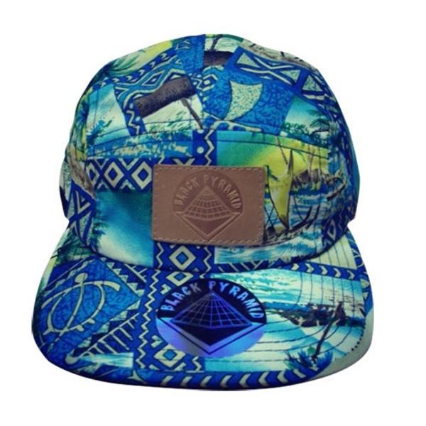 hat black pyramid chris brown snapback