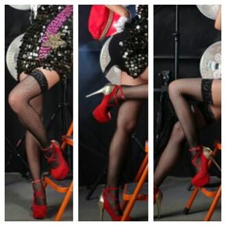 k-pop kpop fashion korean fashion korean style high heels redheels