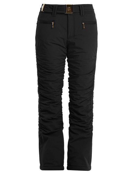 BOGNER flare black pants