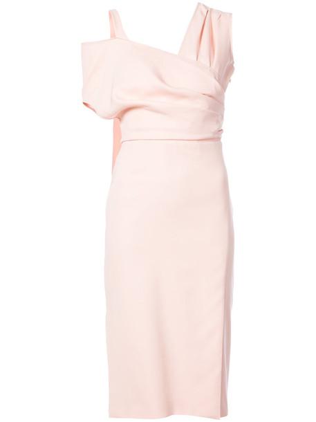 Altuzarra dress women spandex purple pink