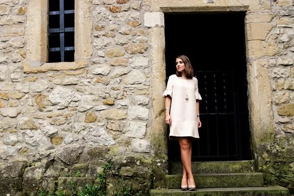 franellee blogger shift dress