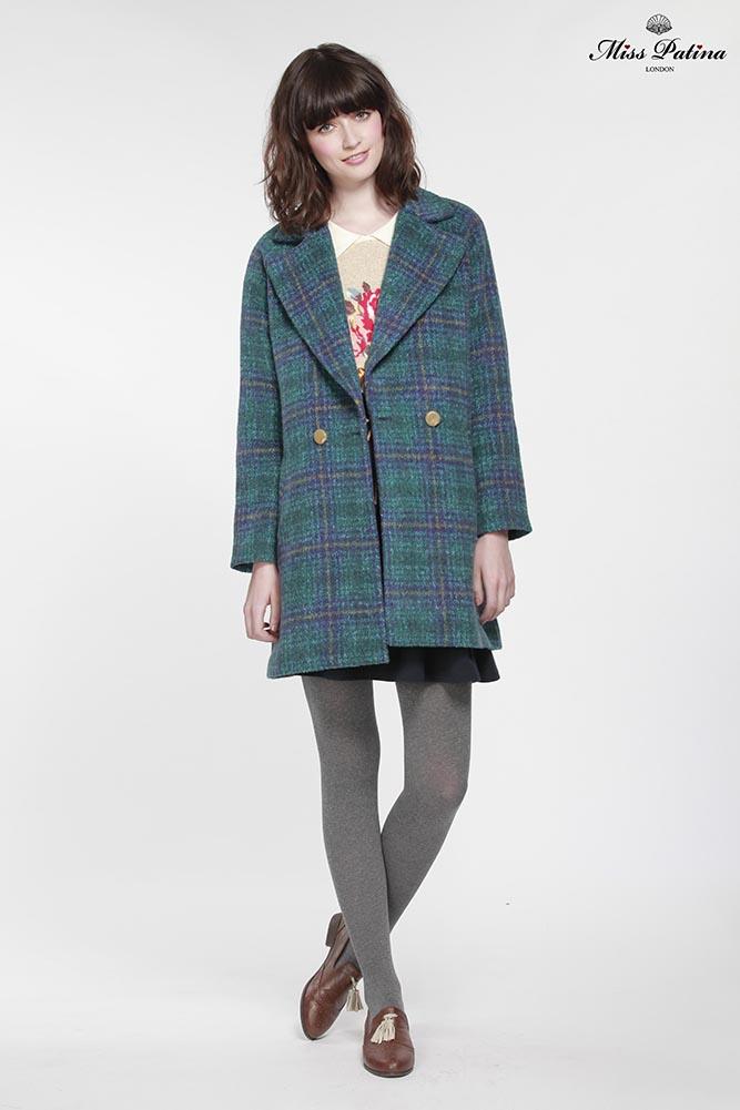 Highland coat (forest green)