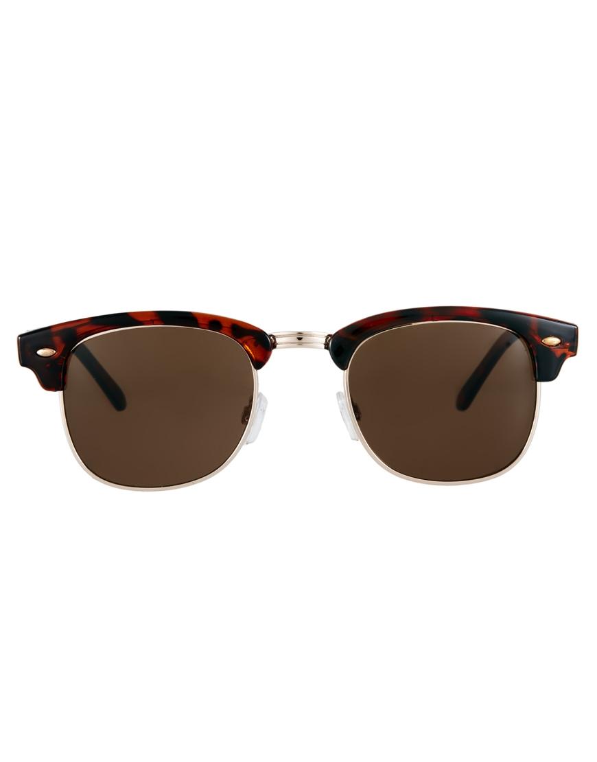 2431ab4ebd8b5 ASOS Tortoiseshell Clubmaster Sunglasses at greencommunitiescanada ray ban  gafas desol, Catty Clubmaster gafas de sol RB4139,Online De Marca,