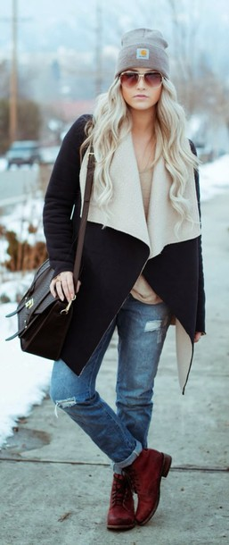 shearling winter coat shearling jacket