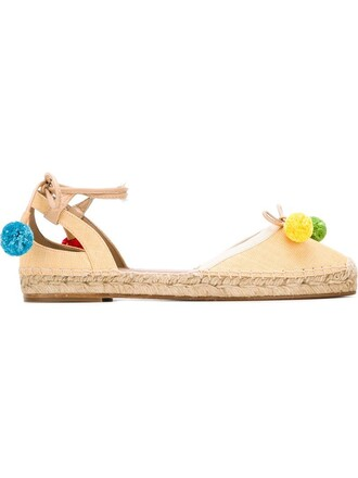 beach espadrilles nude shoes