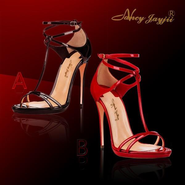 shoes women sandal nancy jayjii summer shoes high heel sandals black heels red heels