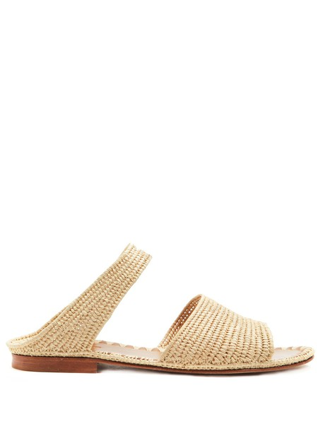 carrie forbes sandals cream shoes