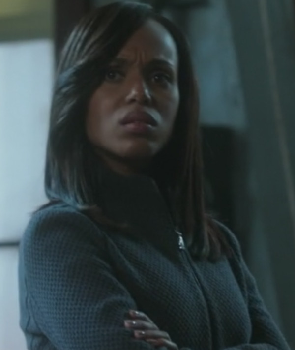 jacket zipped knit jacket kerry washington scandal