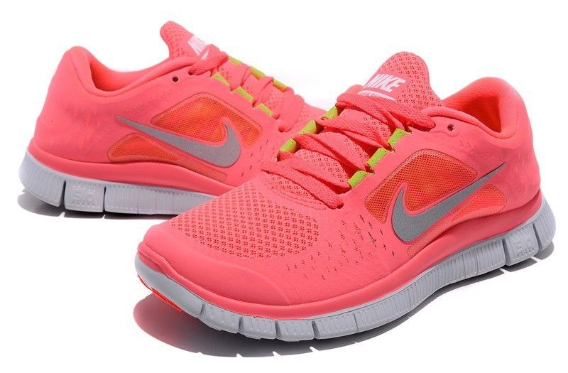 Nike Free Run 5 0 Run 3 Running Women Shoes Hot Pink Size UK 4 5 EU 38 | eBay