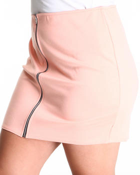 b78a1ccf490aa Buy The Beverly Hills Zip Up Skirt (plus) Women s Bottoms from ...