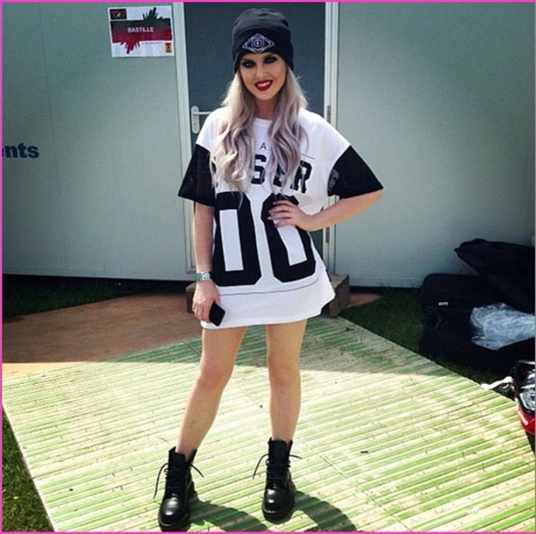 t-shirt perrie edwards