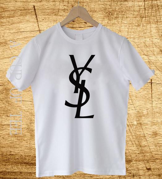 ysl ysl shirt ysl tshirt t-shirt ysl t shirt ysl unisex