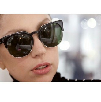sunglasses black sunglasses lady gaga