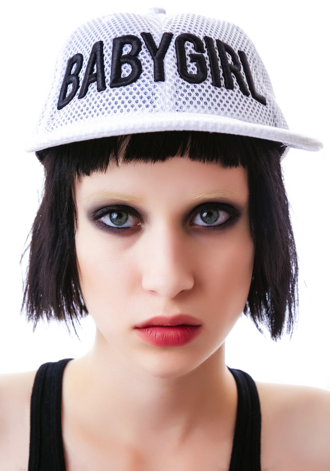 Dimepiece babygirl white mesh 6