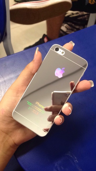 phone cover chrome iphone 6 iphone 6+ vinyl wrap phone wrap iphone wrap iphone vinyl iphone case shiny
