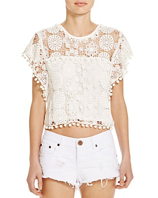 Tularosa Kennedy Crochet Top | Bloomingdale's