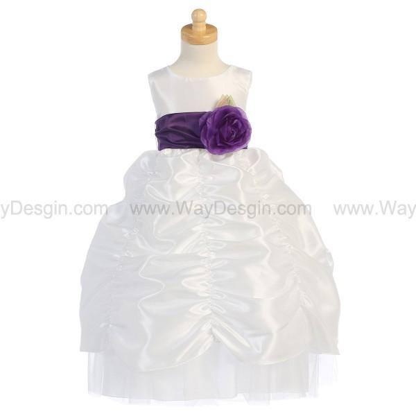 white dress white flower girl dress flower girl dress