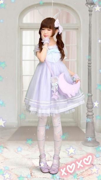 dress kawaii pastel style