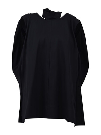 top cotton wool black
