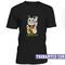 Turnover lucky cat t-shirt - teenamycs