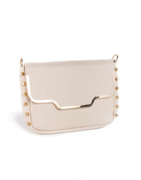studs bag white and gold bag shopwithcre crecrebaby