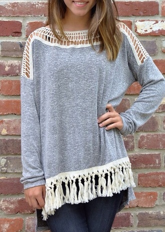 blouse grey gray blouse shirt fashion clothes instagram pinterest girl girly girly wishlist