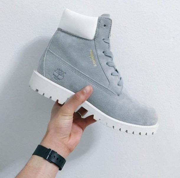 shoes timberland blue light blue grey light grey boots timberlands white  shoes bag combat boots style 15a6b4f457ba