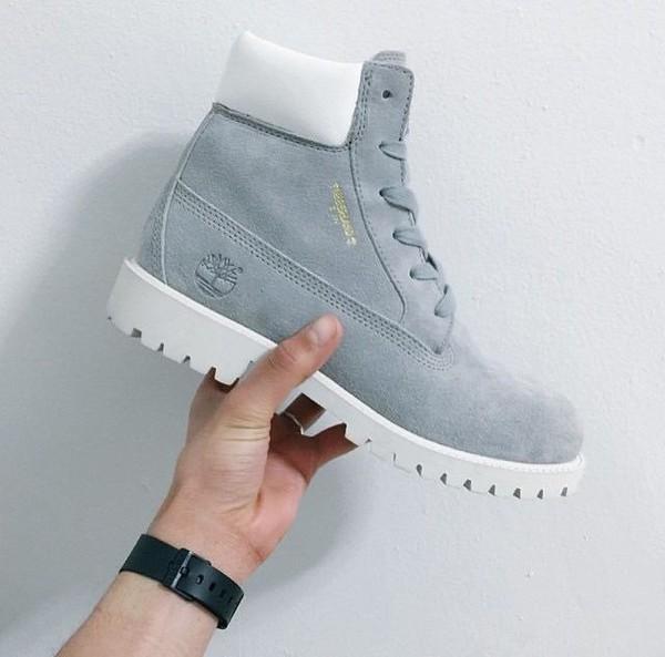 Grey Suede Baby Shoes