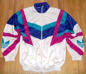jacket,pullover,colorful,adidas,windbreaker,vintage,90s jacket,90s style,80s style,retro,retro jacket,adidas windbreaker,90s windbreaker,blue pink white,shell suit,tracksuit,old school,icy,blue,pink,purple,zipper jacket,white,adidas jacket,nike,nike windbreaker,turquoise,multicolor