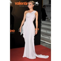 Shoulder formal prom dress the 65th annual venice film festival red carpet