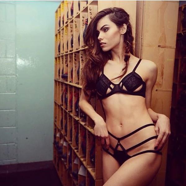 Underwear: lingerie, lingerie set, bra, bralette, fashion ...