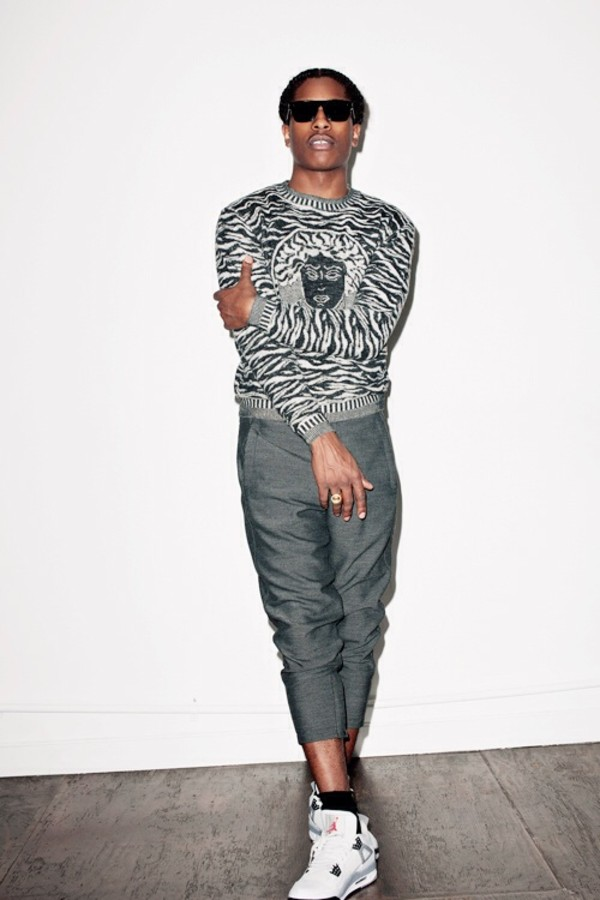 Discover exactly what clothes ASAP Rocky is wearing. Exact products identified with additional close matches, similar and bargain items.