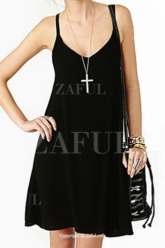 dress black black dress mini dress black mini dress little black dress sleeveless lace up back lace up back lace black lace up dress casual accessories ewels jewels cross cross necklace casual dress casual outfits summer summer summer dress black summer dress summer outfits zaful spaghetti strap spaghetti straps dress black spaghetti strap dress