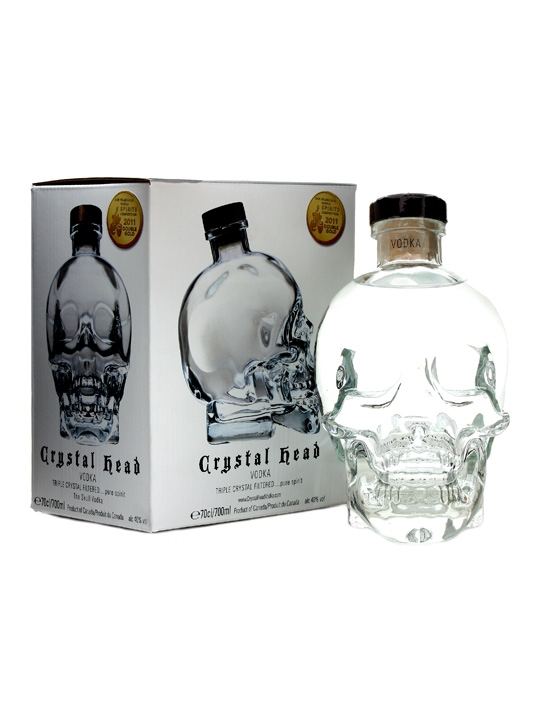Crystal Head Vodka : Buy Online - The Whisky Exchange