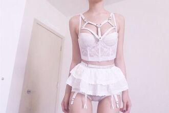 underwear pastel pink pastel goth tumblr pale