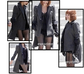 jacket,black jacket,grey jacket,veste